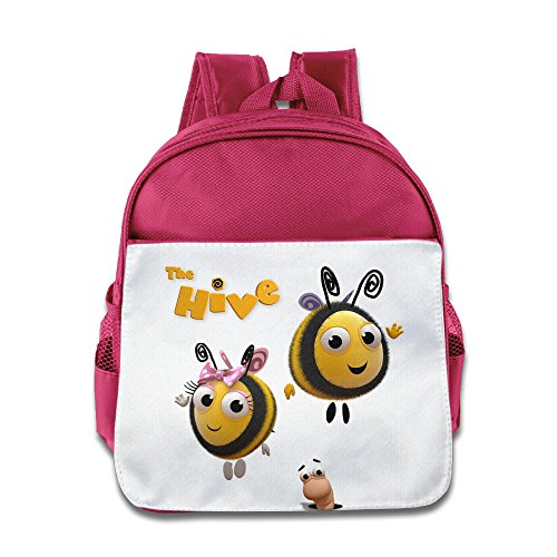[XJBD Custom Cute The Hive Children Shoulders Bag For 1-6 Years Old Pink] (Cute Slimer Costumes)