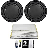 (2) Polk Audio DB1242SVC 12 2220 Watt Single 4-Ohm Car Audio Subwoofers Subs