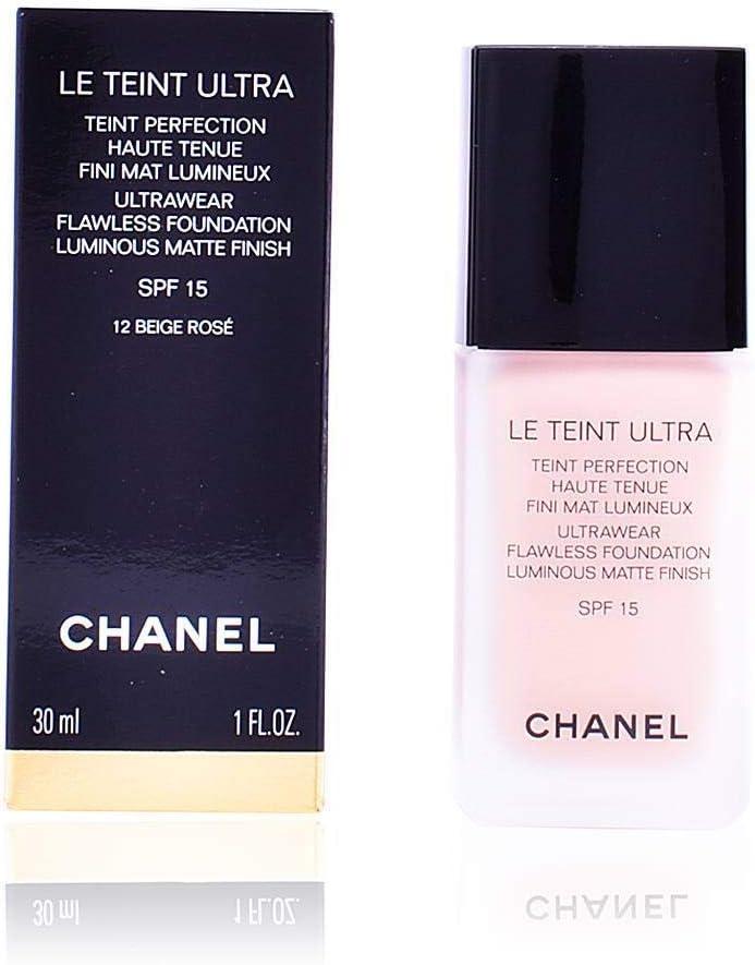 Chanel - Fondo de maquillaje fluido perfección larga duración acabado mate luminoso spf 15