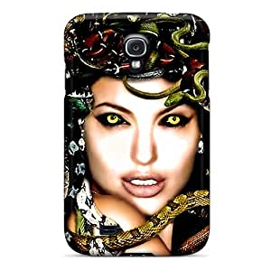 New Style Case Cover LYQBVaJ609YBlql Medusa Compatible With Galaxy S4 Protection Case