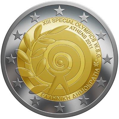Greece 2 Euro Coin 2011