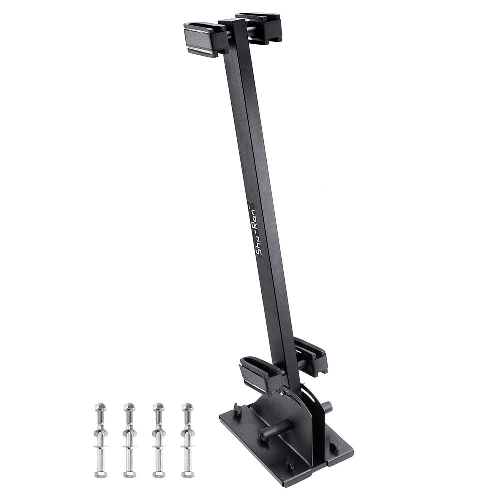 AW Golf Cart Gun Rack Stand Up Gun Holder Stand Compatible with Club Car EZGO Yamaha Quick Release