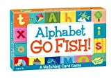 learning games - Peaceable Kingdom Alphabet Go Fish Letter Matching Card Game - 52 Cards with Box