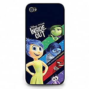Inside Out Iphone 5C Case, Stylish Design Inside Out Phone Case Black Hard Plastic Case Cover For Iphone 5C