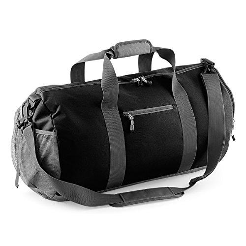 BagBase Tasche fur Gym Freizeitsport Seesack 62x35x35cm 58L Fitness black