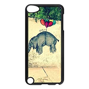 LZHCASE Design Phone Case Graffiti For Ipod Touch 5 [Pattern-1]