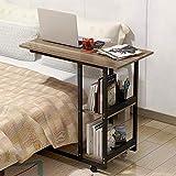 Gplveoq Writing Simple Desktop Computer Desk,Notebook Computer Desk,Bed Learning Computer Desk,Folding Mobile Bedside Table,4