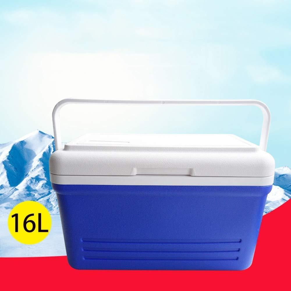 Ambiguity Kühlboxen,16L PU Wärmedämmung Box Luft/Imbiss/Impfstoff/medizinische Kühlschrank
