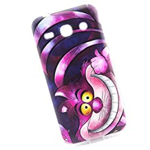 Cuitan Durable TPU Soft Case Cover for Samsung Galaxy Core 2 G355H, Premium Quality Anti-scratch Back Cover Fashionable Protective Case Cover Shell Sleeve for Samsung Galaxy Core 2 G355H - Funny Cat