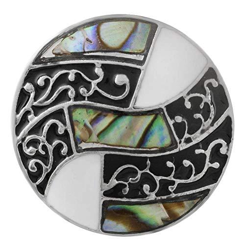 Shell Button Bracelet - Lovmoment 20MM snap Jewelry for Women Shell Jewelry snap Buttons DIY Bracelets Accessories Wholesale