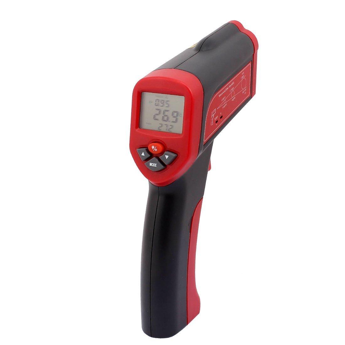 Amazon.com: Temperatura eDealMax de mano sin contacto del IR del arma Tester Meter Termómetro digital por infrarrojos -58F a 3992F (-50C a + 2200C) Display ...