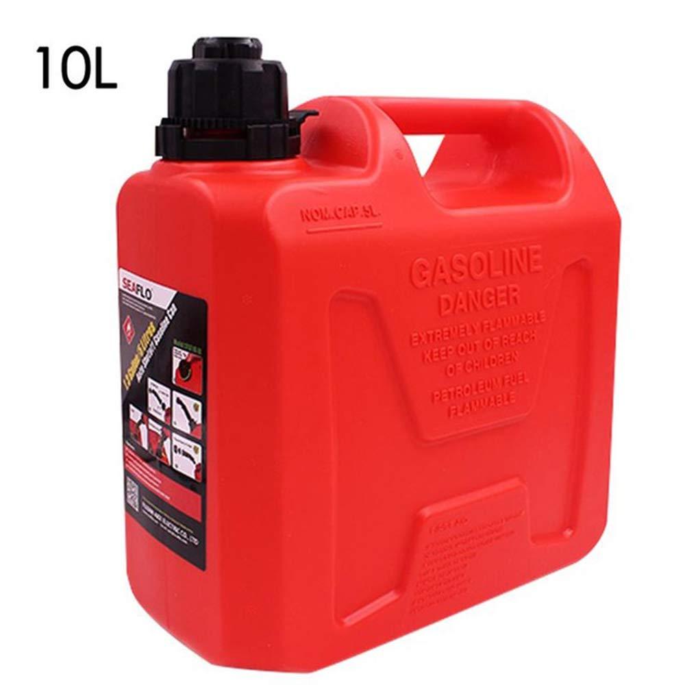 Portable Fuel Tanks, 5L 10L Anti-Static Plastic Car Oil Barrel, Fuel Bucket Auto Shutoff Storage Can, Gasoline Barrel