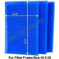 Dynamic Air Filter (3 Pack) (16x20)
