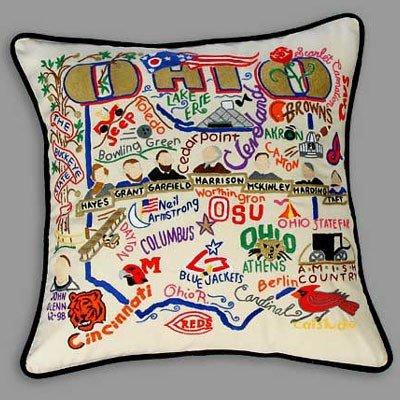 Catstudio - Ohio State Pillow by Catstudio