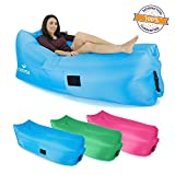 Cozyful Indoor or Outdoor Air Lounger | Portable & Waterproof Comfy Bag | Sturdy Ripstop Nylon Fabric, Great for any Event