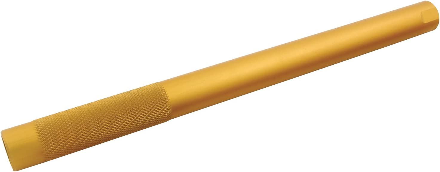 Allstar ALL56410 Gold Anodized Aluminum 0.156 Wall Thickness 10 Long Round Suspension Tube