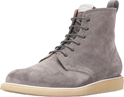 rag & bone Men's Grey Suede Lace Boots, US 9