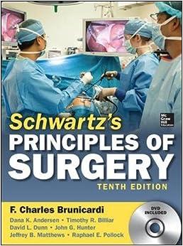 Schwartz's Principles Of Surgery. Con Dvd por F. Charles Brunicardi epub
