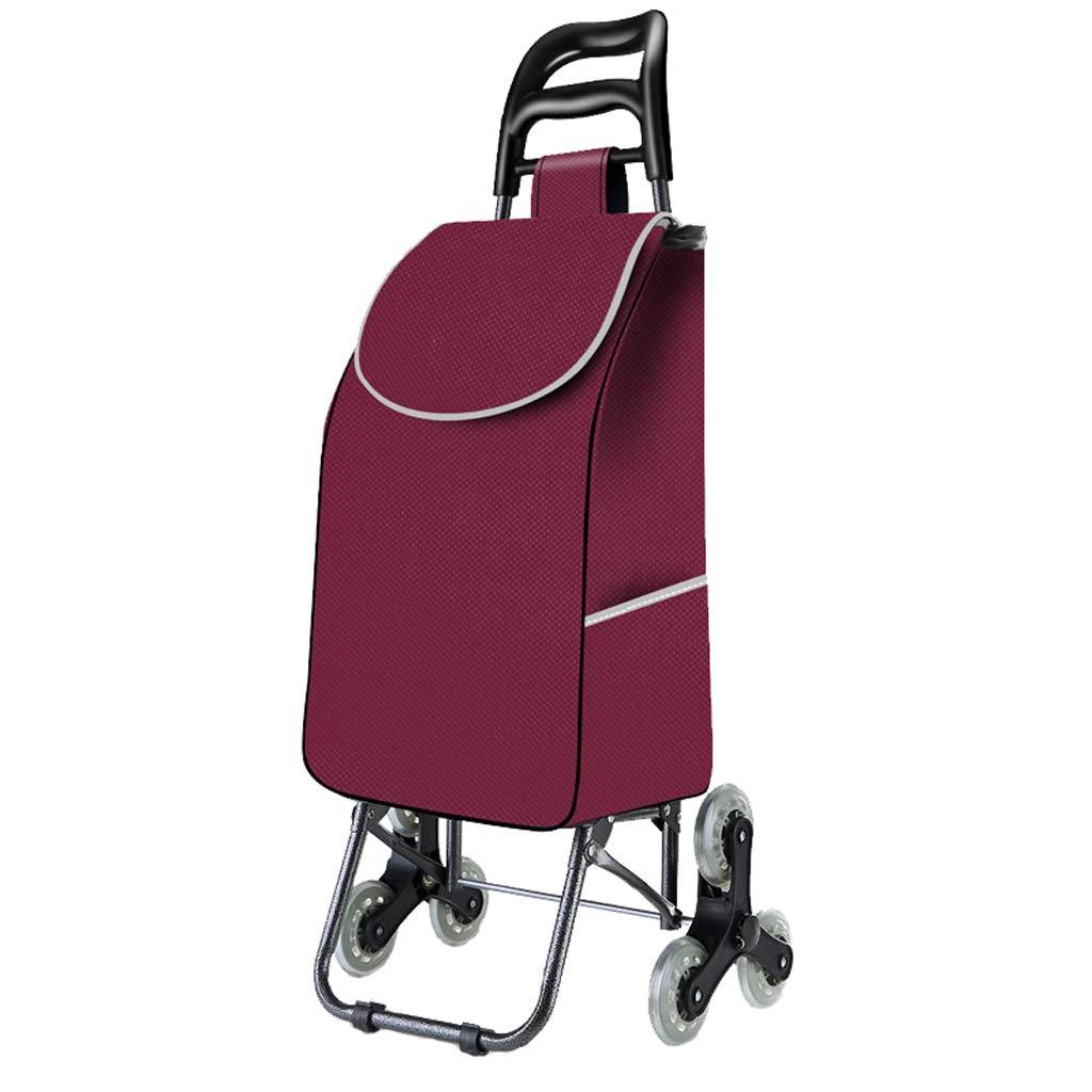 AAFEO-Trolley Carrito de Compras portátil Plegable de la Carretilla (Color : Negro): Amazon.es: Electrónica