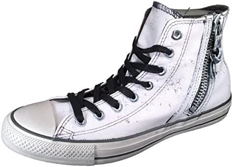Converse by John Varvatos Distressed Painted Side Zip Hi Top