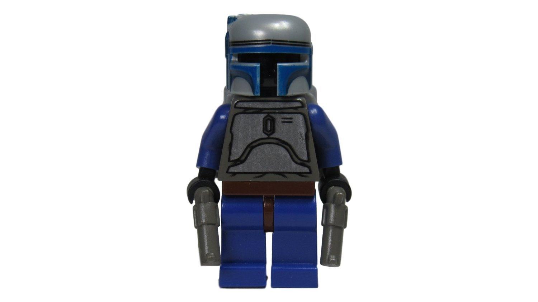 "Jango Fett - LEGO Star Wars 2"" Mini Figure from Set 7153 Slave 1 with Dual Pistols"