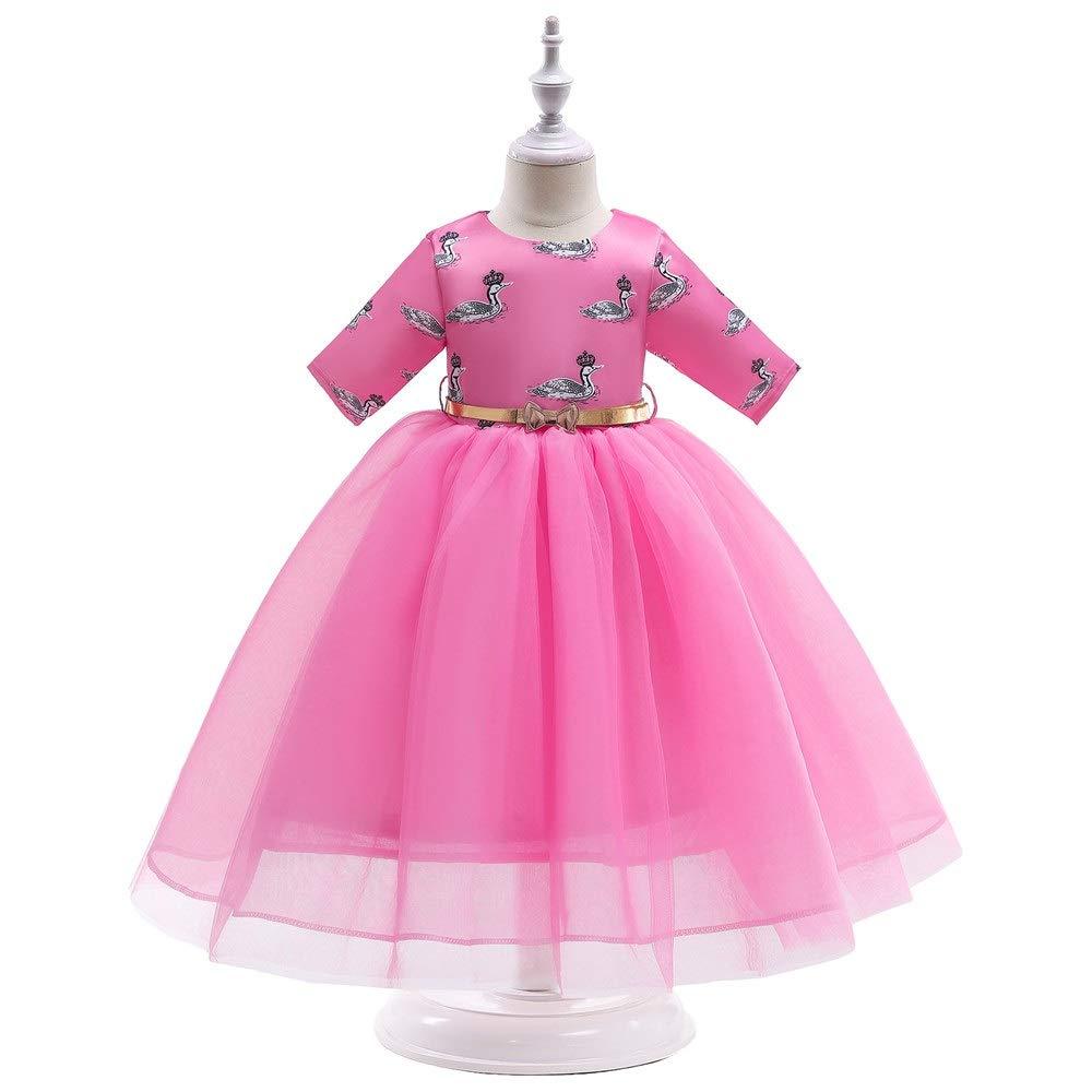 girls bird tweet casual party princess christening wedding  dress