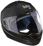 Steelbird STE_AIR_7 Air Classic Full Face Helmet with Visor (Black, L)