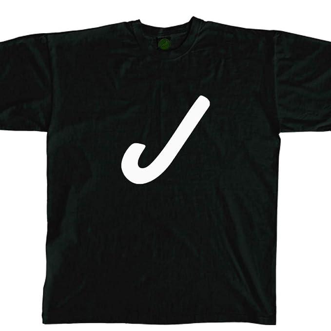 dd94aedebece4 Stickerslug Letter J Font 8 Crew Neck T Shirt Unisex Cotton tee ...