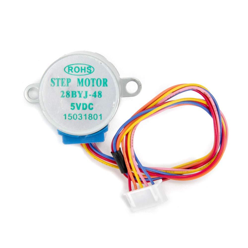 Jolicobo Stepper Motor Schrittmotor Treiberplatine 5V ULN2003 f/ür Arduino