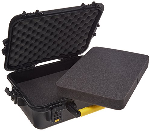 Plano 108021 Gun Guard AW Large Pistol/Accessories Case with Deluxe Latches