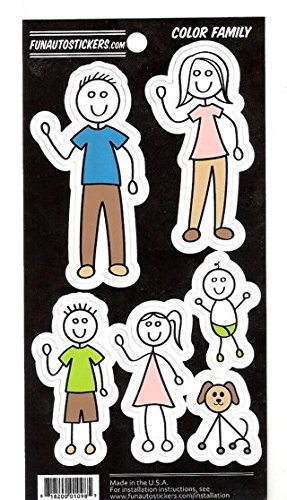 Family Auto Decals - Vinyl Stickers - 8