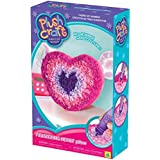 The Orb Factory Limited Plush Craft Fluttering Heart Pillow