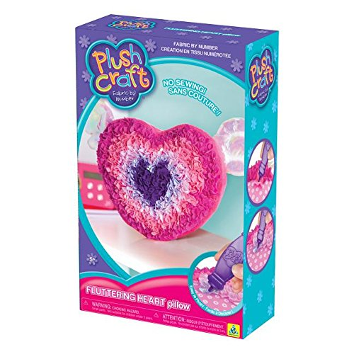 The Orb Factory Limited Plush Craft Fluttering Heart - Pillow Craft Kit