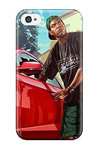 Mejor snap-on case designed For iphone 4/4S- Gta 9587082K98736141