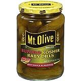 710 hot sauce - Mt. Olive Kosher Baby Dills Hot Sauce Flavored Pickles, 24.0 FL OZ Jars (Pack of 2, Total of 48 Oz)