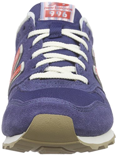 Mujer blue orange Azul Para New Zapatillas Balance Wl996v2 84q7U
