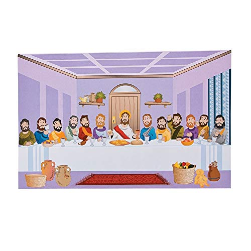 Last Supper Giant Sticker Scenes by Fun Express