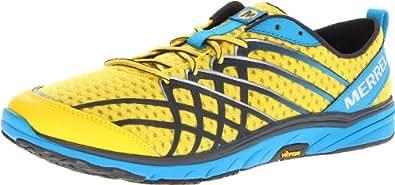 Merrell Men's Bare Access 2 Minimal Running Shoe,Lemon Racer,15 M US