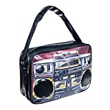 Blue Banana Tape Speaker Bag