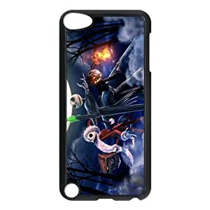 Customize Cartoon Nightmare Before Christmas Back Case for ipod Touch 5 JNIPOD5-1352