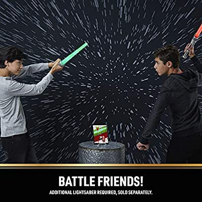 Star Wars Lightsaber Academy Interactive Battling System Lightsaber with Smart-Hilt, Motion Capture Technology, Free App for Gameplay: Toys & Games