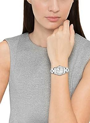Citizen Women's Quartz Silver-Tone Watch with Day/Date display, EQ0540-57A