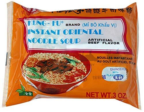 Oriental Style Beef Noodle(30 packages) Beef Flavor Ramen Noodle Soup