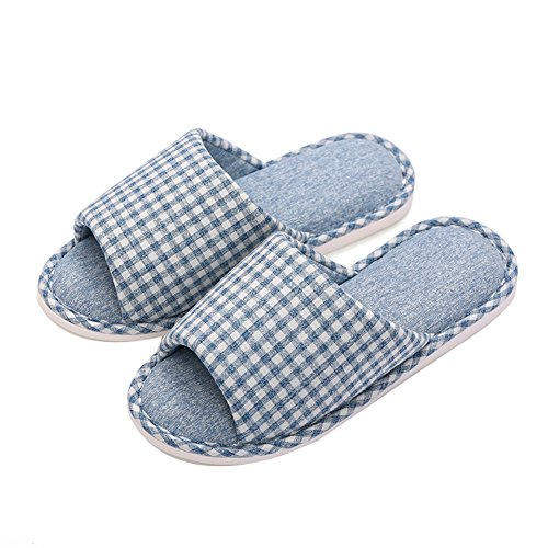 Scivolo Invernale Lavabile Moda Uomo Mecabiu Moda Su Comode Pantofole Blu