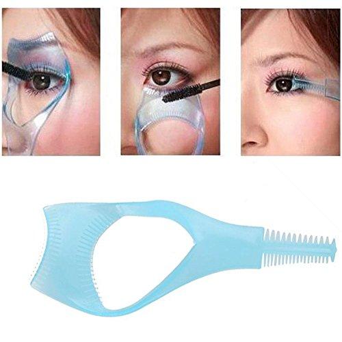 2 X 3in1 Mascara Eyelash Brush Curler Lash Comb toiletry KeyZone