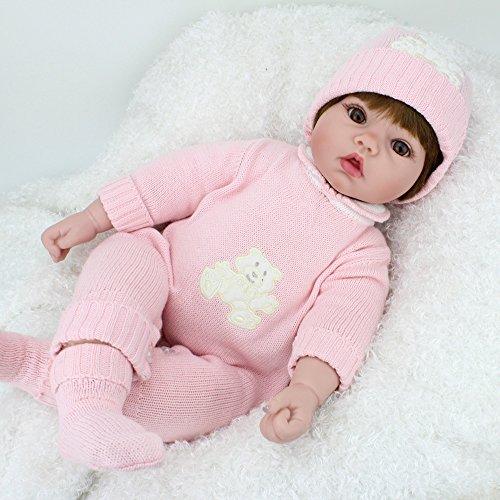 Kaydora Reborn Baby Dolls 22 Inch Lifelike Girl Reborn Baby