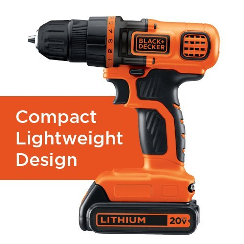Black & Decker BD4KITCDCRL 20V MAX Drill/Driver Circular and Reciprocating Saw Worklight Combo Kit by BLACK+DECKER (Image #3)