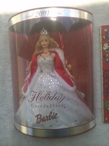 Barbie Holiday Celebration   Special Edition Doll 2001