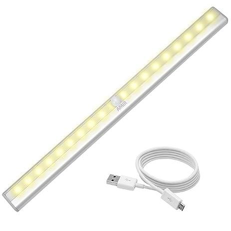 Attrayant AMIR Motion Sensor Closet Lights, DIY Stick On Anywhere Portable 20 LED  Wireless Sensing