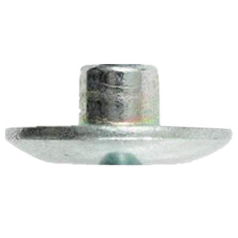 0.375 Inch Grade 2 Steel Medium Bearing Huck Hucktainer HLPSM-R12 FRP Lockbolt Sleeve; 3//8 Inch Zinc